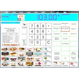 Exemple paramétrage 'Bar Restaurant'